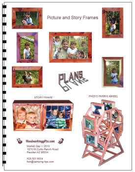 Pictures and Story Frames plans book