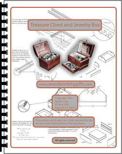 Treasure chest and jewelry box plans cover
